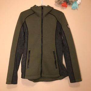 Women's Small Kuhl Green Jacket